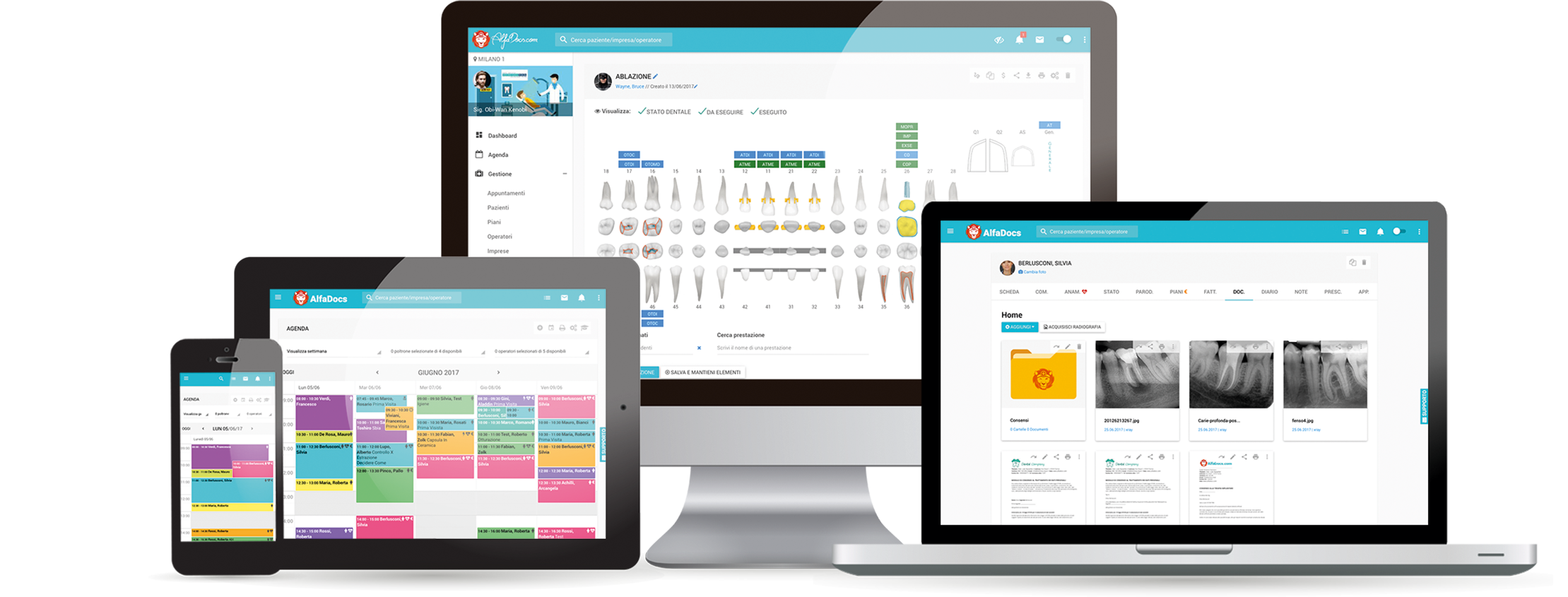 Software per medici e dentisti in cloud